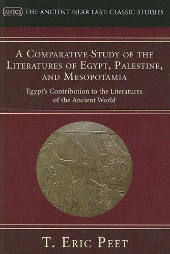 comparative essay egypt and mesopotamia