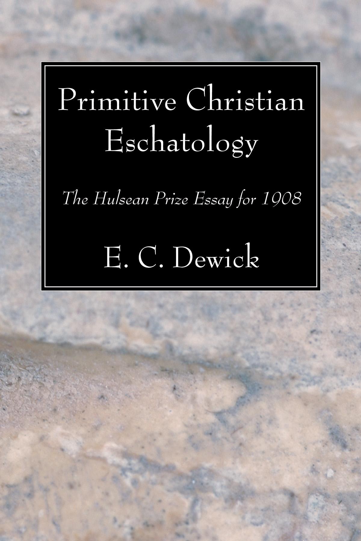 christian eschatology