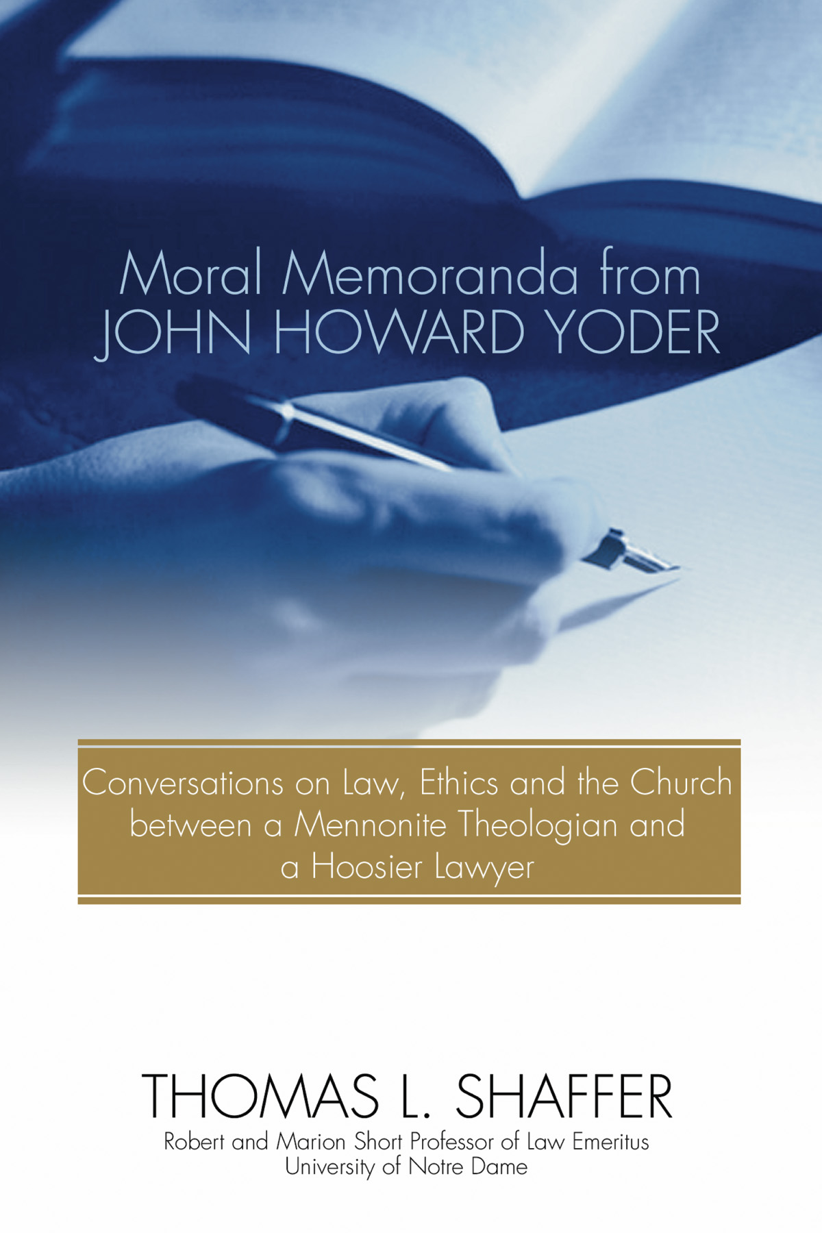 cross essay honor howard in john wisdom yoder A deepening of ochs' critical reading of yoder  of this essay is to  in the wisdom of the cross: essays in honor of john howard yoder,.