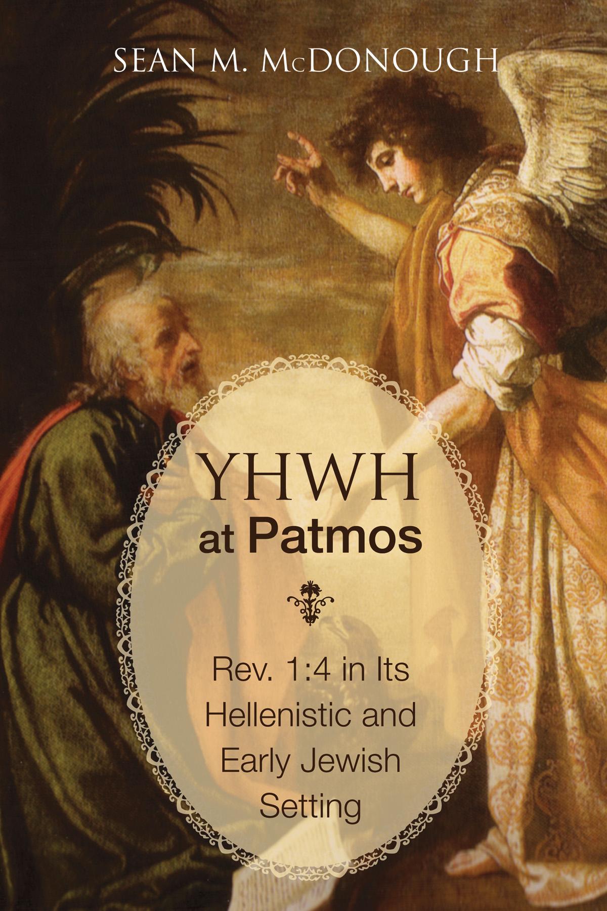YHWH at Patmos